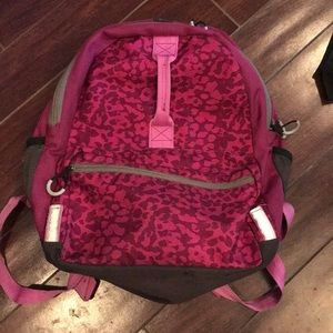 Embark Backpack pink with front handle 🌸